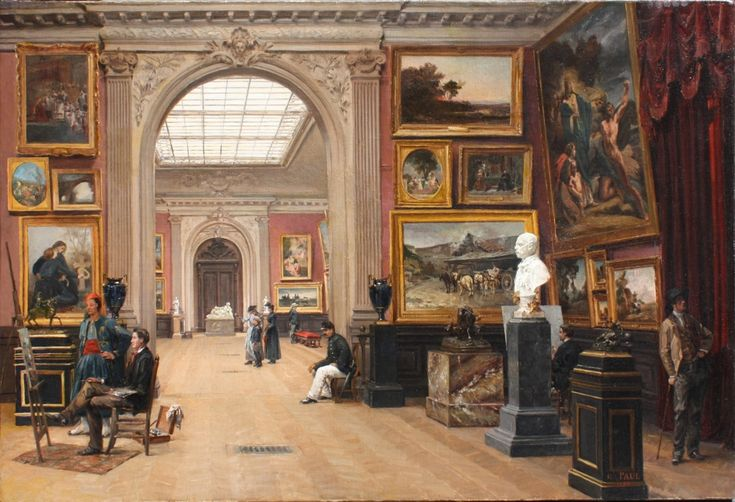 1000 images about salon de paris 1748 1890 on pinterest world view paris and history - Salon des arts creatifs paris ...