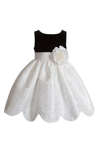 Kleinfeld Pink 'Audrey' Sleeveless Dress (Baby Girls) available at #Nordstrom