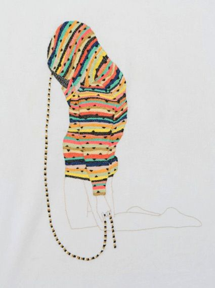 Embroidery by Buenos Aires artist Jazmin Berakha