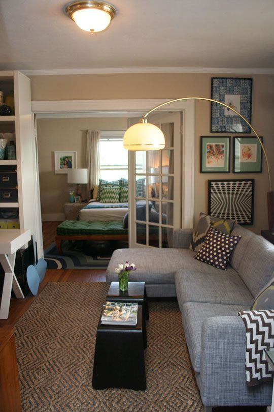 Living Room Apartment Therapy