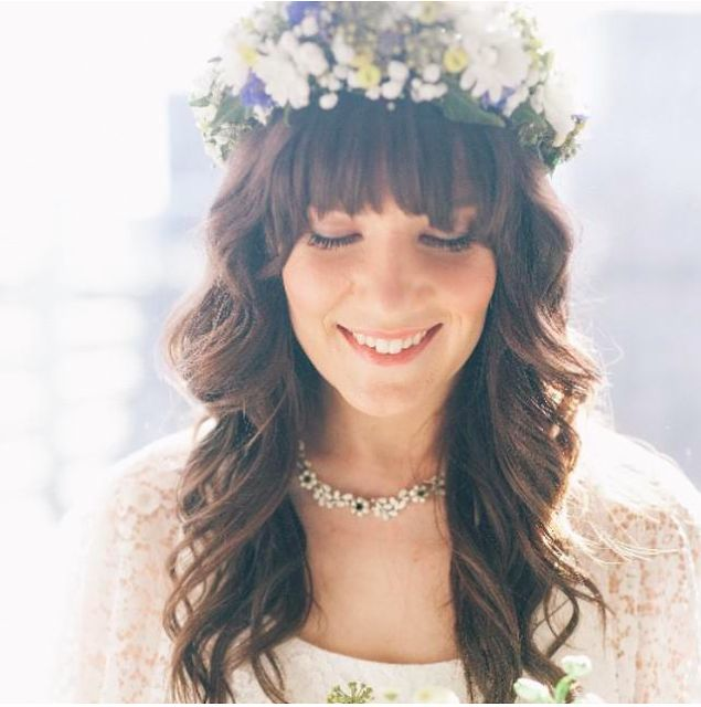 {Boho wedding} Flower crown. Beautifully captured by www.lavanphoto.com.au