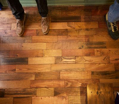 In case you missed this post last week. Pallet Flooring - Everything you need to know: https://www.profloortips.com/hardwood/pallet-wood-flooring-guide/ #profloortips