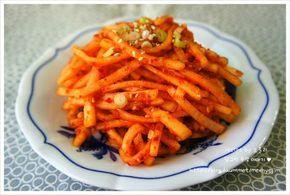 [무생채] 백종원 레시피 - 쉽고 간단한 무생채 만드는법 - Daum 요리