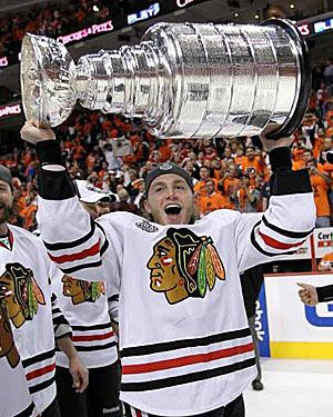 The Hawks will hold the cup this year! Go Hawks! 2015 Stanley Cup Finals