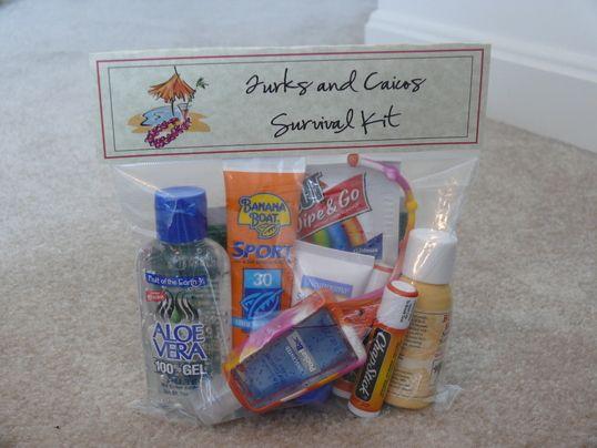 Beach Wedding Gift Bag Ideas: Another Style I Like