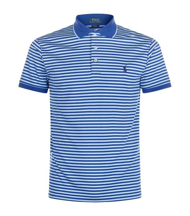 Polo Ralph Lauren Slim Fit Striped Polo Shirt Available To Buy At Harrods Shop Clothing Online And Earn Rewards P Striped Polo Shirt Mens Tee Shirts Polo Shirt