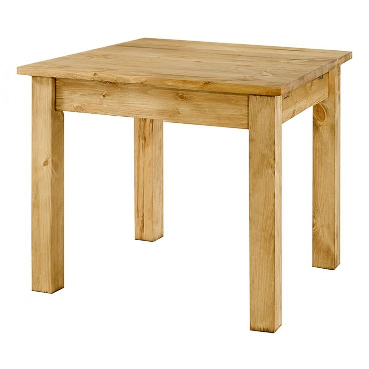 Table Repas Pin Massif 100x100 Cm Allonges En Option Terroir Mobilier De Campagne Table Repas Lamelles De Bois