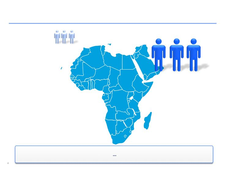 Mapas de África editables en ppt