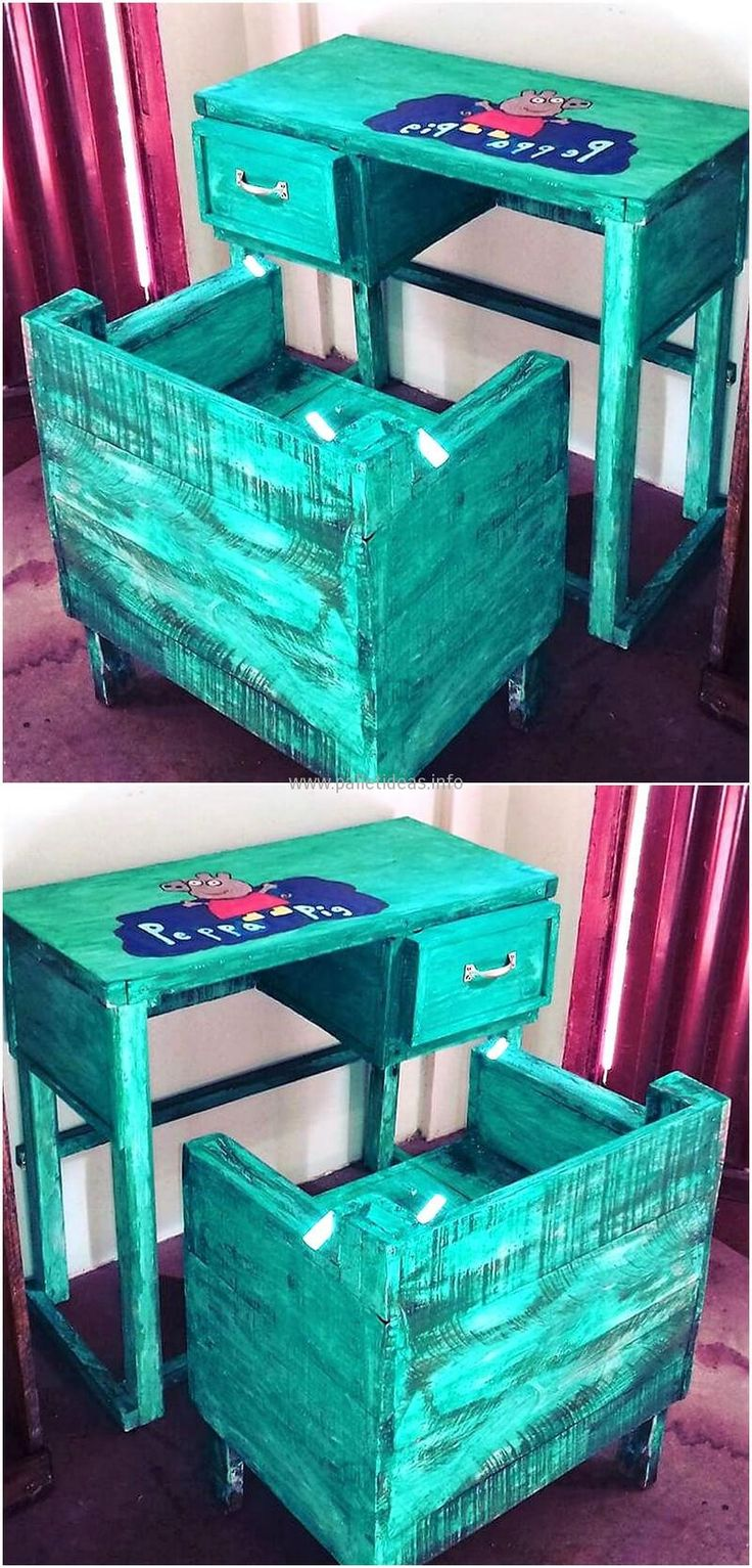 Awesome Pallet Ideas You Can Do IT Yourself At Home. Rustic Kids  FurnitureKid ...
