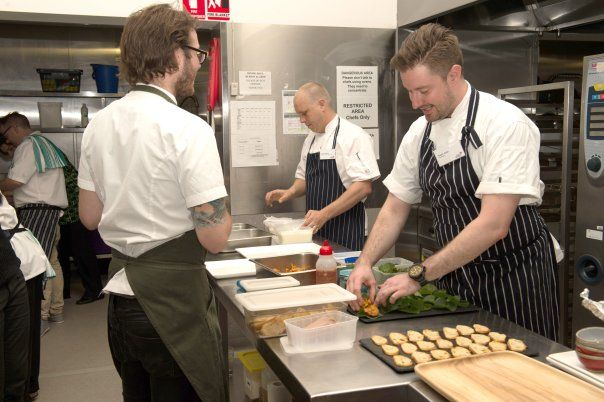 "Melbourne best chef's working together for a great cause - ""Dine with heart"""