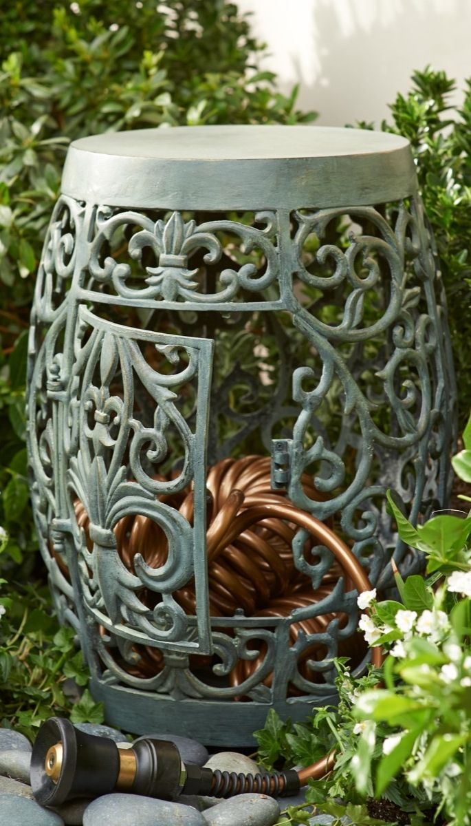 Coiled Kitchen Faucet Colors To Paint Cabinets 22 Best Garden Hose Holder Images On Pinterest | ...