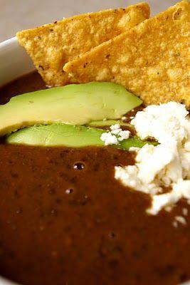 Black bean soup, Black beans and Soups on Pinterest