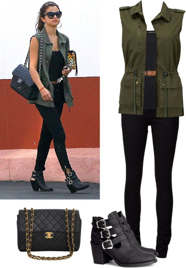 """Selena Gomez style"" by blondethinking on Polyvore"