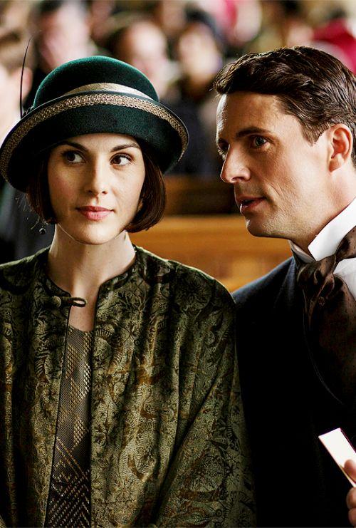 Mary and Henry, Downton Abbey, Season 6 [1925] costume designer Anna Mary Scott Robbins.