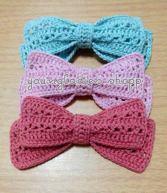 Crochet Baby Tie Pattern Free : 25+ best ideas about Crochet bows on Pinterest Crochet ...