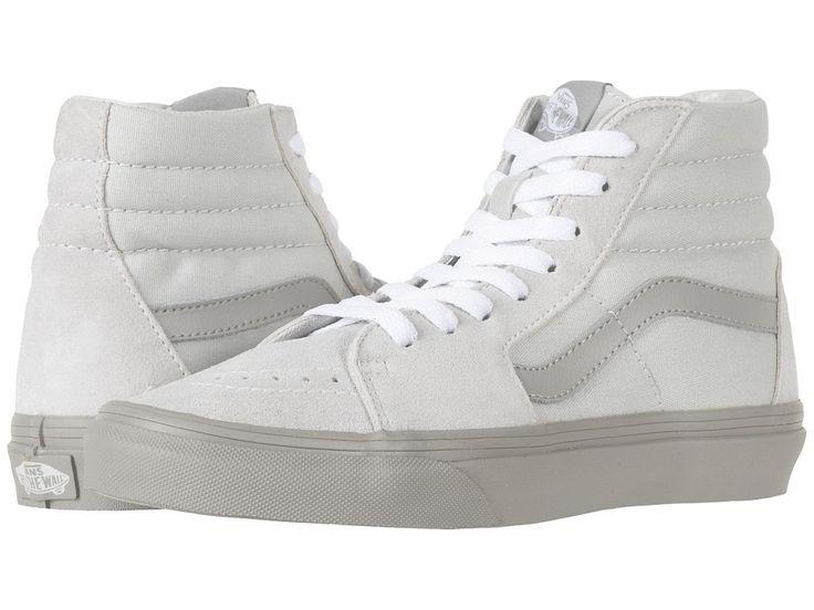 Vans SK8-Hitm Skate Shoes (Two-Tone) Glacier Gray/Drizzle