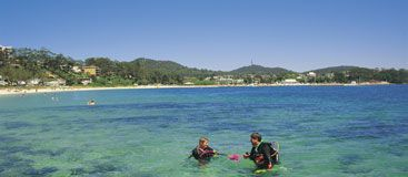 Nelson Bay, NSW #travel #scuba #beach