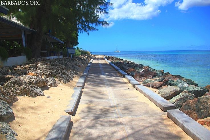 A stroll along the west coast boardwalk is a great way to start the day… and burn off some of those Christmas calories :)  #Barbados