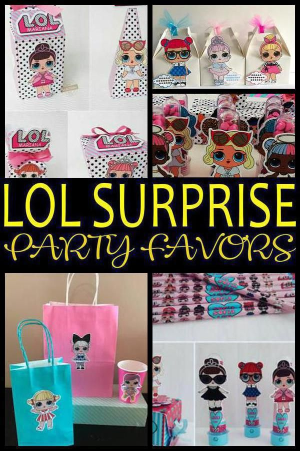 Having a LOL Surprise party and looking for some fun and great ideas for the kid… – Sophie
