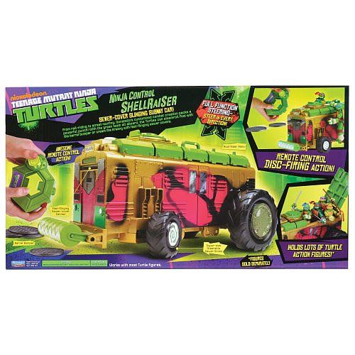 Teenage Mutant Ninja Turtles Toys for Preschoolers ShellRaiser