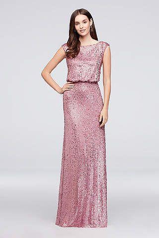 b83503a7f14 View Vintage Cap Sleeves Not Applicable Bridesmaid Dress at David s Bridal  ROSE 199.95
