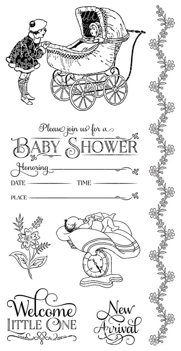 Hampton Art Cling Stamp 2 from Precious Memories, a new collection from Graphic 45. Look for it in stores in mid-February! #graphic45 #sneakpeeks #chashow