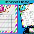 This is a set of owl behavior cards for the classroom. ...