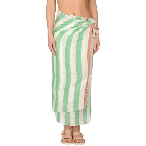 Malìparmi Sarong (5.195 RUB) ❤ liked on Polyvore featuring green