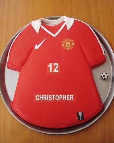 Manchester United Birthday Cake Ideas