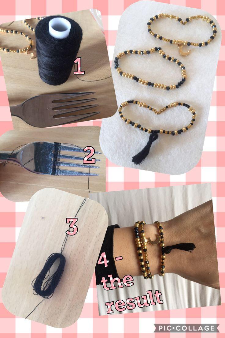 #beaded #bracelet #jewelry #byheleneo #beadedbracelet #tassel #knot