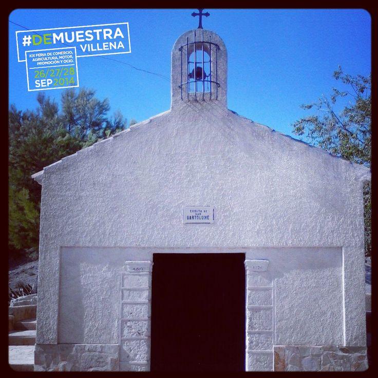 Ermita de San Bartolomé. #DeMuestraVillena www.muestravillena.villena.es www.facebook.com/Muestravillena @muestravillena