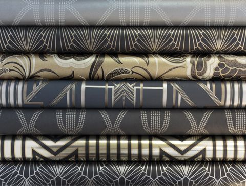 Art Deco Wallpaper (Adore Home magazine - Blog - Catherine Martin & Mokum collaboration)