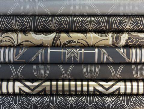 Art Deco Wallpaper (Adore Home magazine - Blog - Catherine Martin & Mokum collaboration)