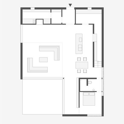 3ddabac3e09d080f Small House Floor Plan Small Two Bedroom House Plans likewise House Plans likewise 30x50 Floor Plans also House Plans also Garage Game Rooms. on 4 bedroom rectangle house plans