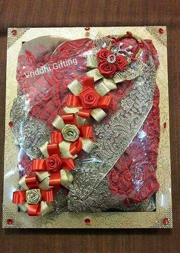 Indian Wedding Trousseau Gift Packing.