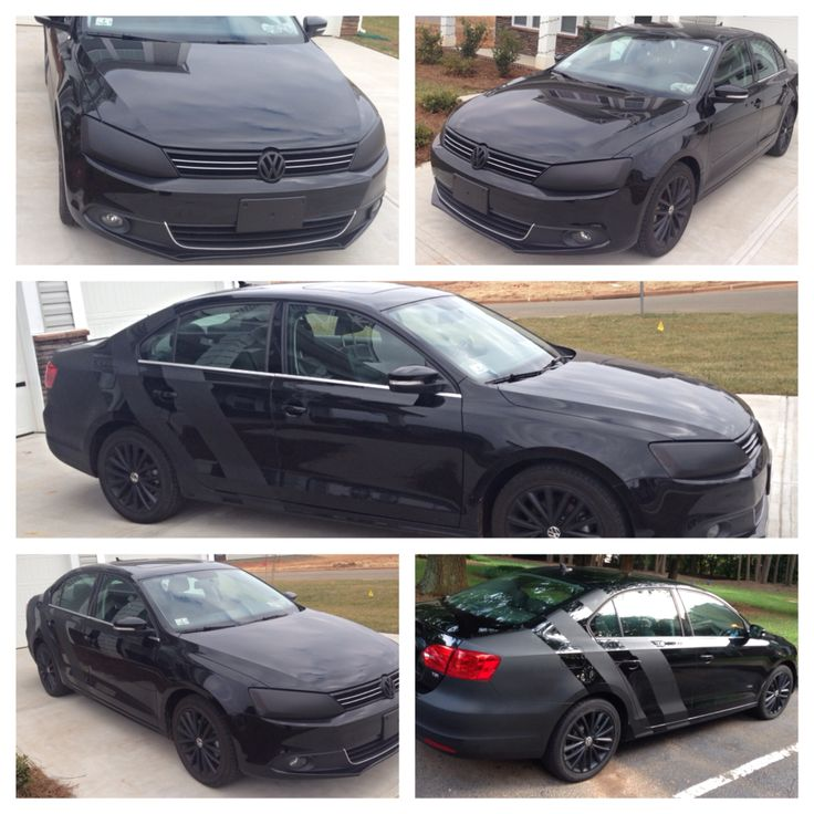 Fine Tuning Of The Appearance Of My Jetta Tdi Vw Blacked