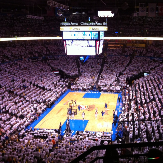 Go to OKC and watch a game in the stands.