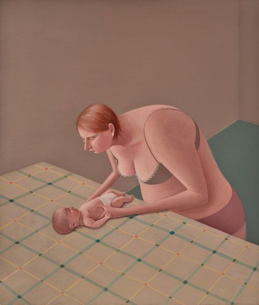 Prudence Flint: Baby :: Archibald Prize 2015 :: Art Gallery NSW