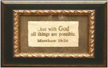 Bas Relief Bible Scriptural Art by Betty Spooner