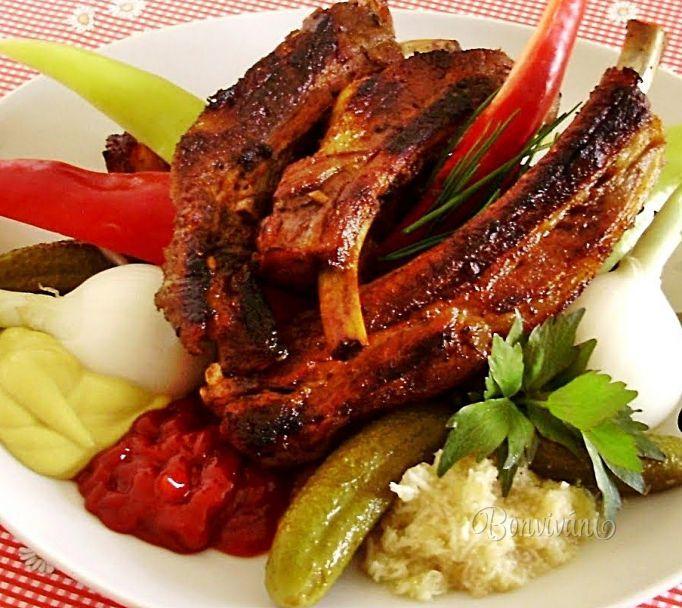 Pečené bravčové rebierka • recept • bonvivani.sk