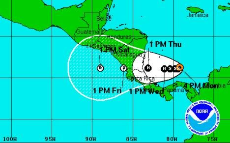 After several days of threatening to become a tropical cyclone right at the end of the Atlantic hurricane season, Tropical Storm Otto has formed in the Car