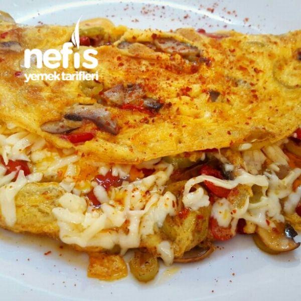 Kahvaltıya Nefis Omlet