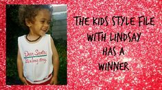 Thanks for the amazing support for The Kids Style FIle and a very big congratulations to The Kids Style File's first winner