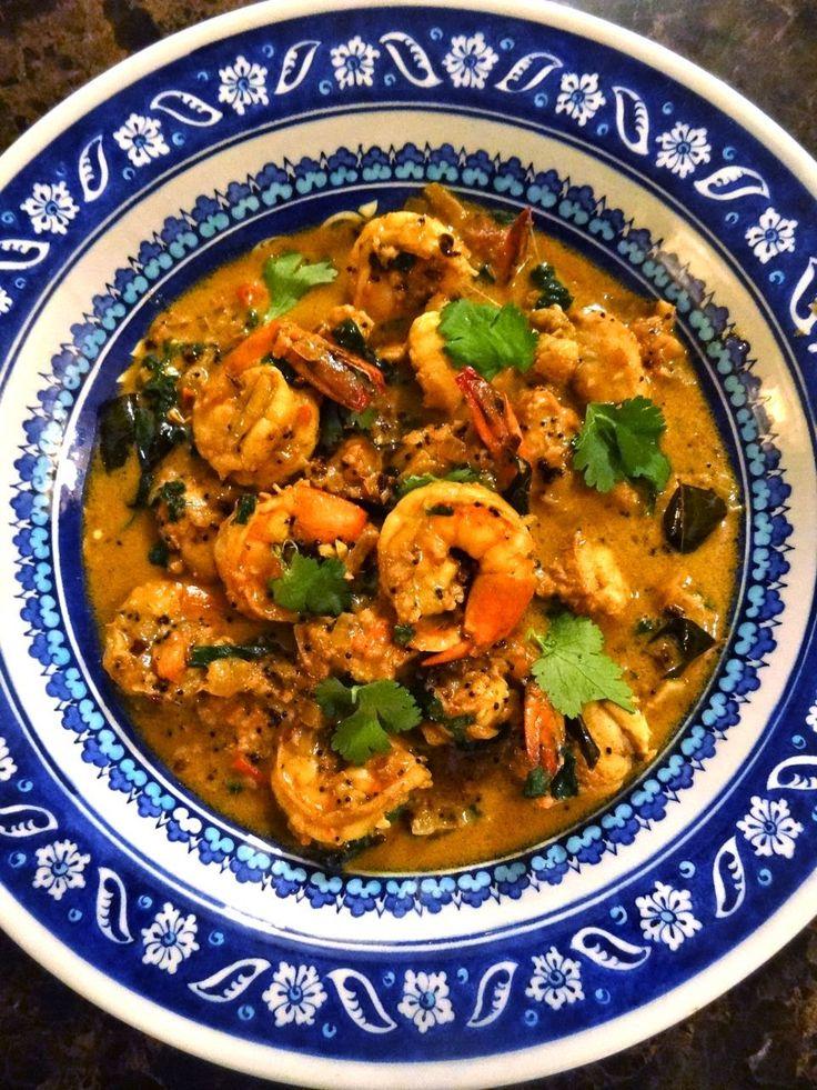 [CasaGiardino]  ♛  Scrumpdillyicious: Kerala-Style King Prawn & Monkfish Curry