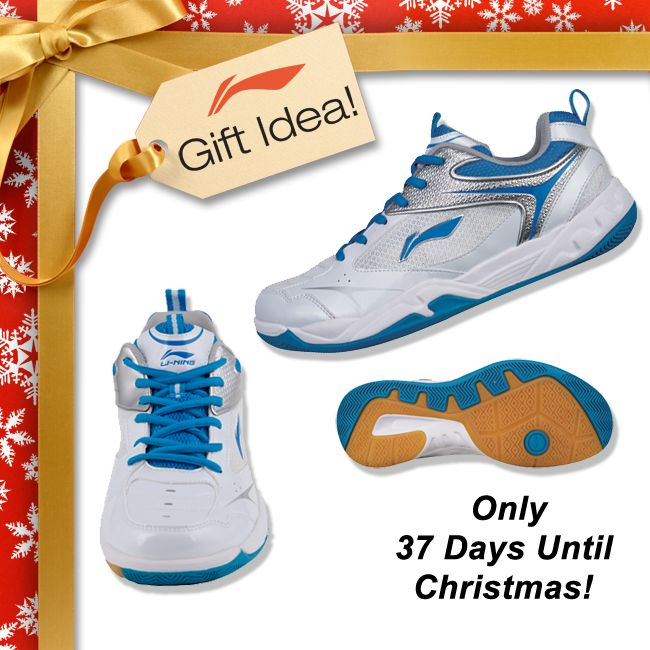 BADMINTON LOVERS GIFT IDEAS! Get your family and friends a Christmas gift they will truly LOVE this year like these men's Competition Badminton Shoes [AYTJ079-1] for only 79! Find them at your local USA and CANADA dealer or here at www.shopbadmintononline.com/shoes-for-badminton-c-4.html #MakeTheChange!