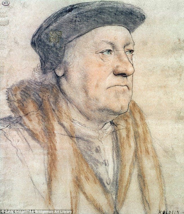 The political adviser, depicted in a sketch from 1530, was executed after failing to save the marriage of King Henry VIII and Anne of Cleves