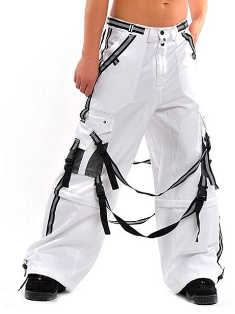 Amok Hurricane Pants WhiteBondage Pants, Cosplay Ideas, Pants White, Bewildered Com, Pants Rules, Amok Pants, Hurricane Pants, Amok Hurricane, Shuffle Pants