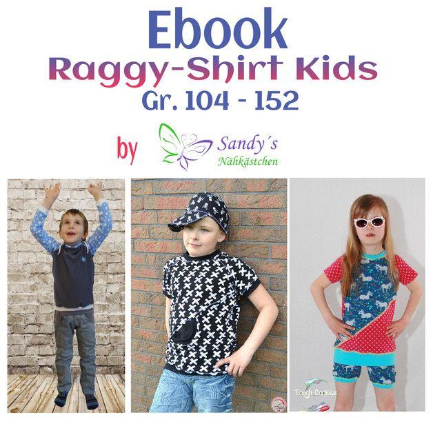 """Das """"Raggy-Shirt Kids"""" ist ein Basic Raglan Schnitt in den Größen 104 - 152. Das Shirt ist leger gehalten, sodass Problemlos noch ein T-Shirt darunter passt. Du kannst es wahlweise mit oder ohne..."""