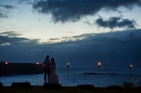 Maui Luau Wedding