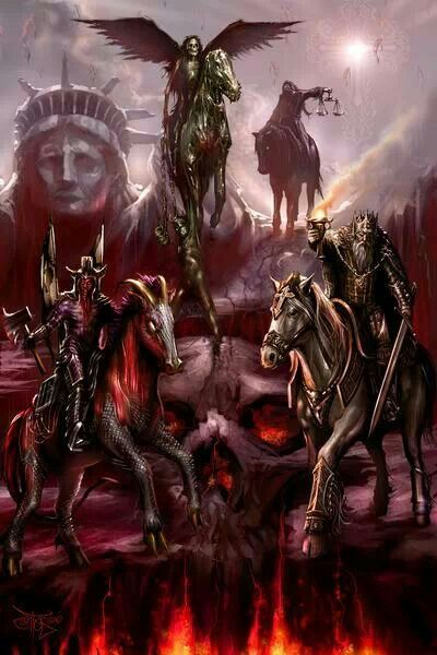 the 4 horseman of the apocalypse tattoos pinterest apokalyptische reiter reiterinnen und. Black Bedroom Furniture Sets. Home Design Ideas